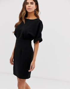 Read more about Asos design wiggle mini dress in black