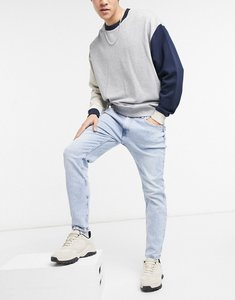 Read more about Bershka skinny jeans in blue wash