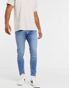 Read more about Bershka super skinny jean in blue
