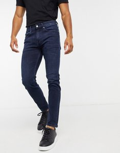 Read more about Calvin klein jeans skinny fit jeans in dark wash-blue