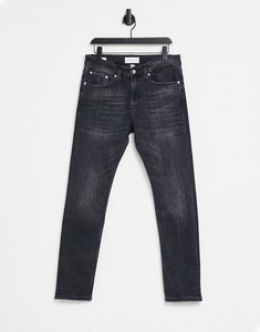 Read more about Calvin klein jeans skinny fit jeans in washed black