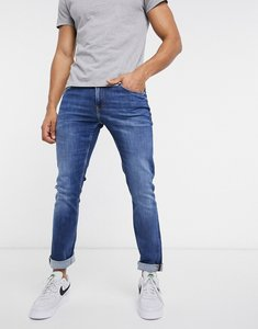 Read more about Calvin klein jeans slim fit jeans in mid wash-blue