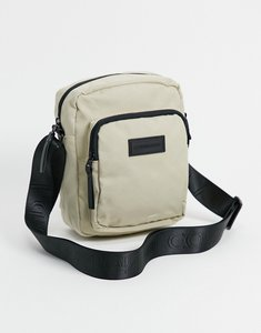 Read more about Consigned flight bag with double pocket-white