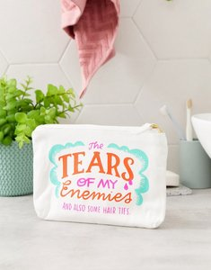 Read more about Emily mcdowell tears of my enemies canvas pouch-multi
