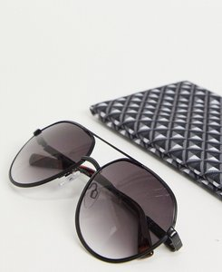 Read more about French connection aviator style sunglasses-black