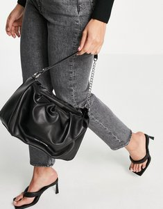 Read more about French connection baguette bag in black
