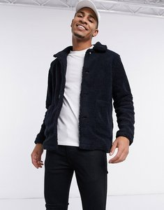 Read more about French connection borg jacket in navy
