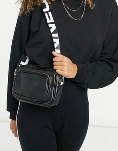Read more about French connection camera crossbody bag in black