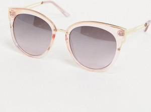 Read more about French connection cat eye sunglasses-pink