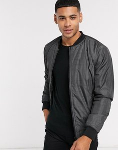 Read more about French connection check bomber jacket-navy