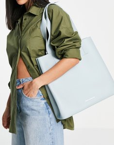 Read more about French connection classic tote bag in blue