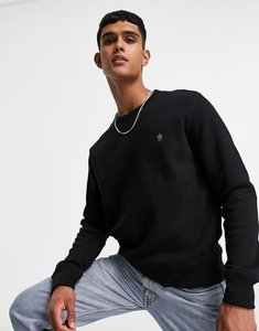 Read more about French connection crew neck sweatshirt in black