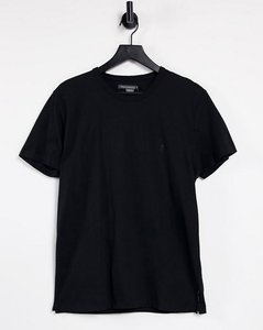 Read more about French connection crew neck t-shirt in black