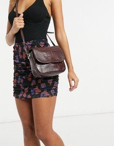Read more about French connection croc crossbody back in brown