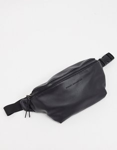 Read more about French connection faux leather bum bag in black