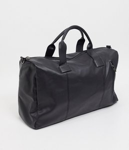 Read more about French connection faux leather classic holdall bag in black