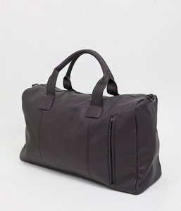 Read more about French connection faux leather classic holdall bag in brown
