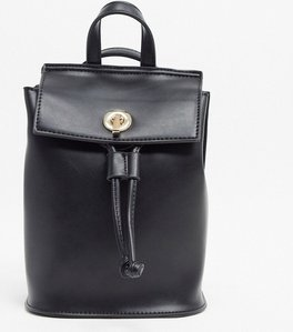 Read more about French connection faux leather mini backpack-black