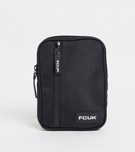 Read more about French connection flight bag in black and white