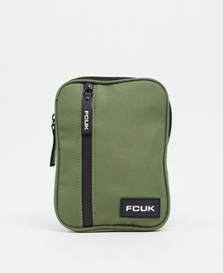 Read more about French connection flight bag in khaki-green