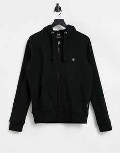 Read more about French connection full zip hoodie in black