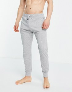 Read more about French connection jersey lounge joggers in light grey melange and marine