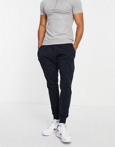 Read more about French connection jersey lounge joggers in marine and gunmetal-blue