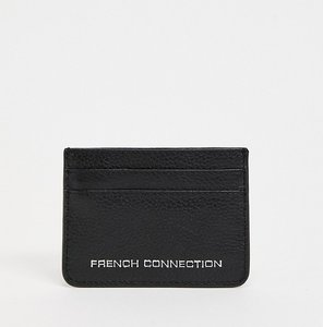 Read more about French connection leather card holder in black