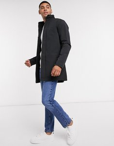 Read more about French connection lined funnel mac jacket in black