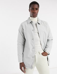 Read more about French connection lined mac jacket in grey