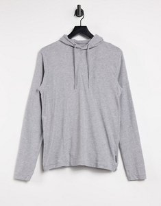 Read more about French connection logo hoodie in light grey
