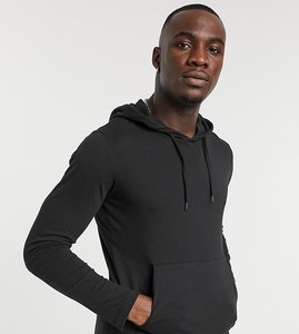 Read more about French connection long sleeve hooded top in black