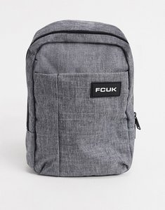 Read more about French connection melton flight bag in grey mel