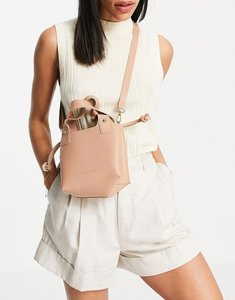 Read more about French connection mini tote bag in beige-neutral