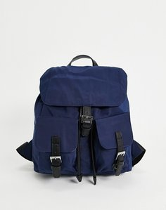 Read more about French connection missy backpack in navy and black