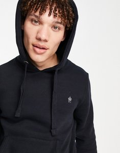 Read more about French connection overhead hoodie in navy-blue