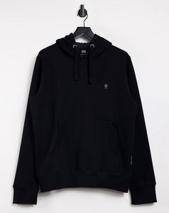 Read more about French connection overhead logo hoodie in black