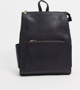 Read more about French connection oversized zip backpack in black