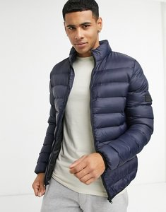 Read more about French connection padded jacket in navy