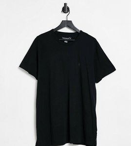 Read more about French connection plus essentials t-shirt in black