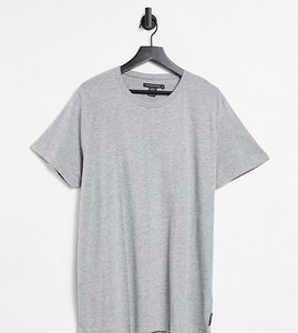 Read more about French connection plus essentials t-shirt in grey