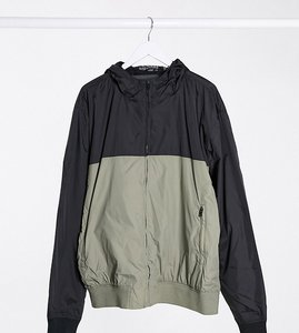 Read more about French connection plus hooded tech jacket in black