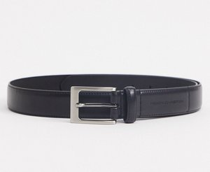 Read more about French connection prong buckle belt in black leather