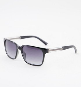 Read more about French connection rectangle sunglasses-black