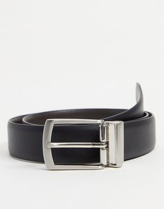 Read more about French connection reversible belt in black and brown