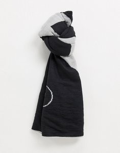 Read more about French connection scarf in utility black and grey print