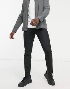 Read more about French connection skinny fit formal trousers-black