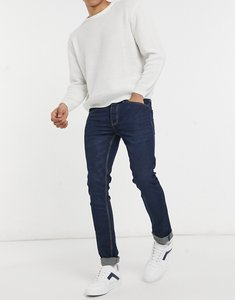 Read more about French connection slim fit stretch jeans in dark blue
