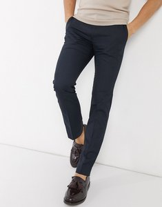 Read more about French connection smart trousers in skinny fit-navy