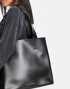 Read more about French connection structured tote bag in black